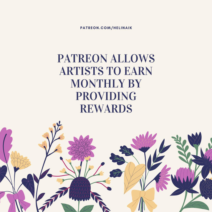 Do you know about patreon?