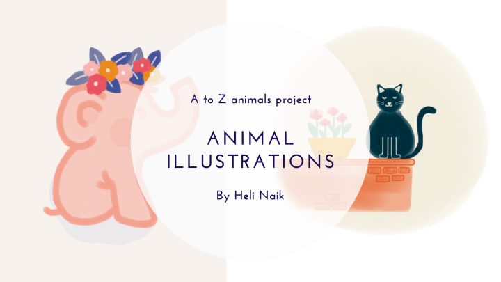 Animal illustrations and art tool